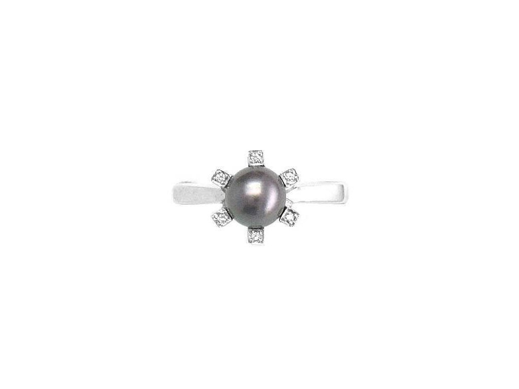 Perlový prsten V50