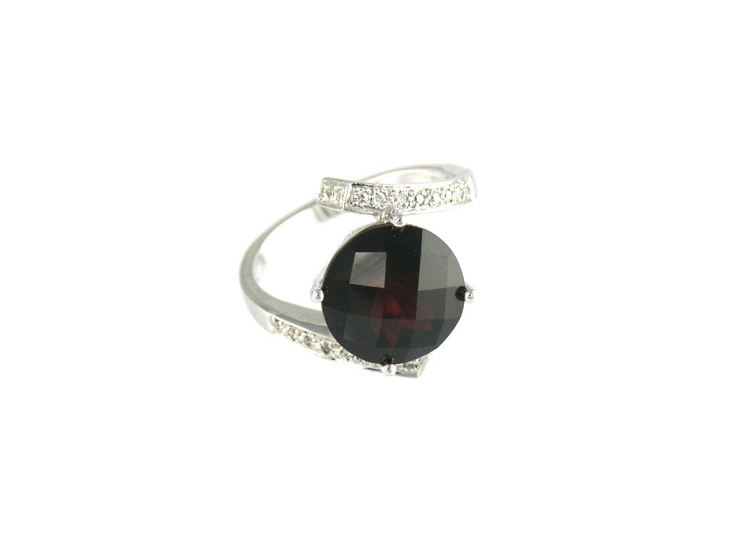 Granátový prsten V54