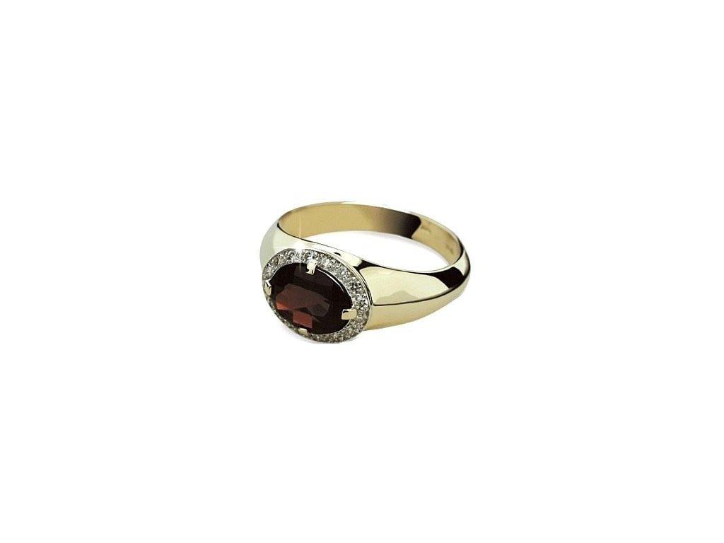Granátový prsten  Z 1892