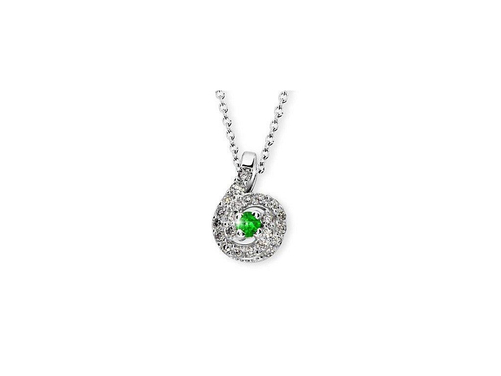 Smaragdový přívěsek Z  3157