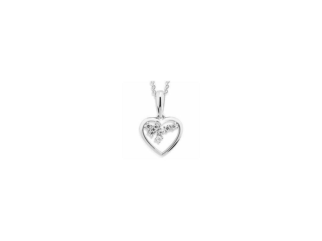Přívěsek ve tvaru srdce Z 1606