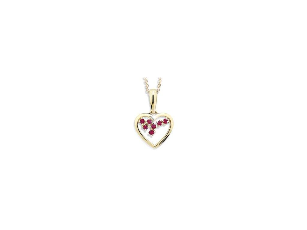 Přívěsek srdce Z 1606
