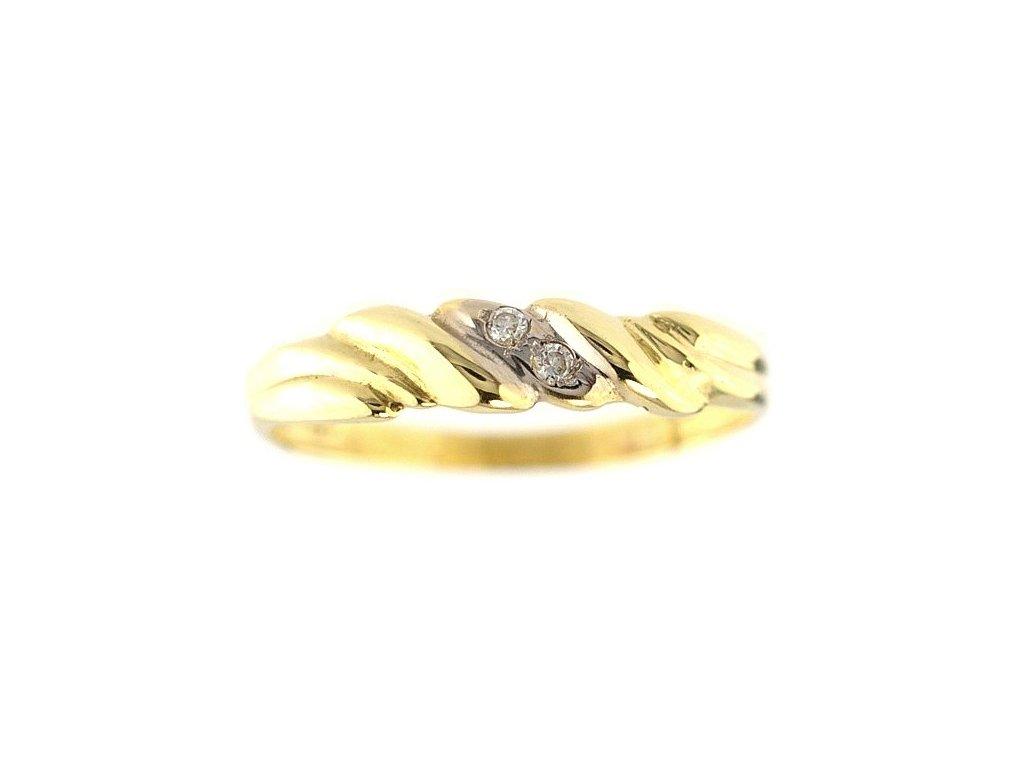 Zlatý prsten V52