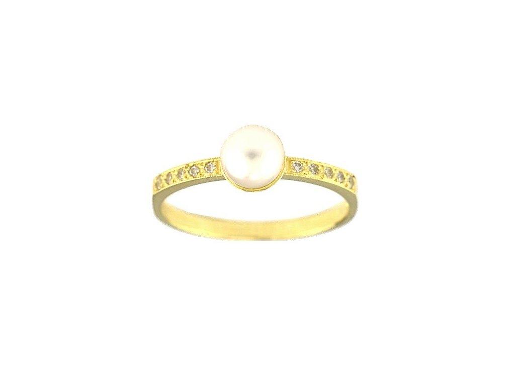 Perlový prsten