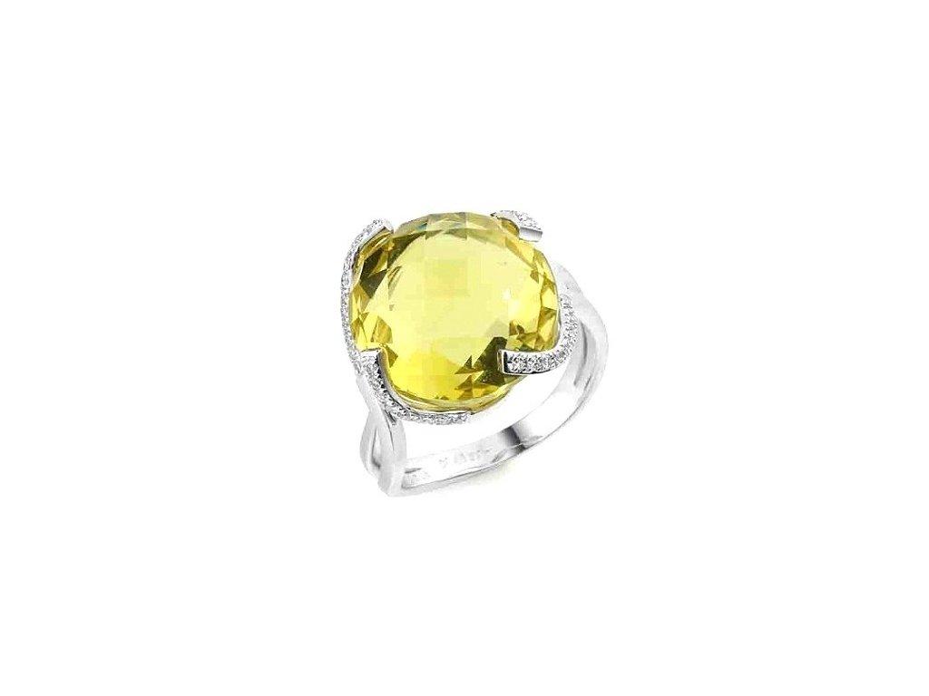 Citrínový prsten