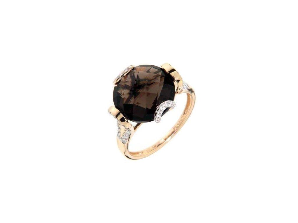 Záhnědový prsten