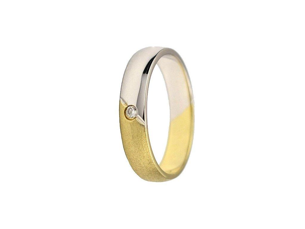 Briliantové snubní prsteny AW-183