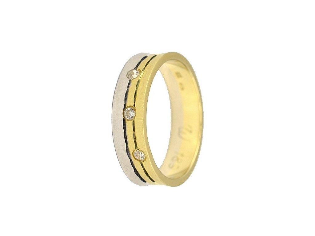 Briliantové snubní prsteny AW-189