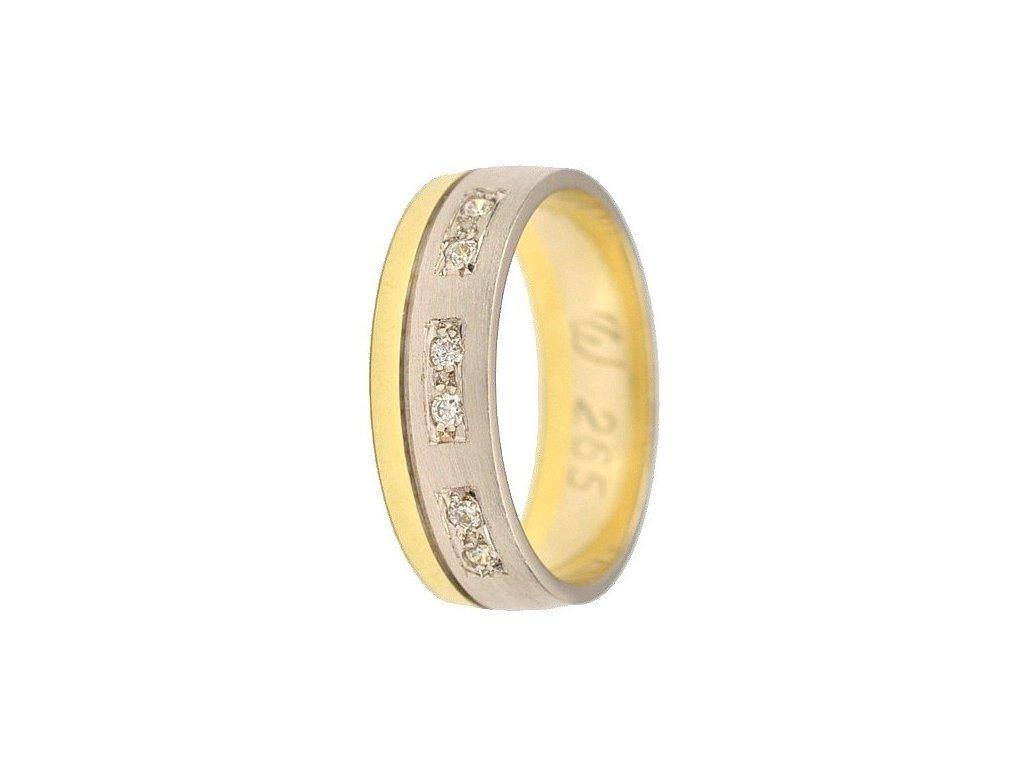 Briliantové snubní prsteny AW-265