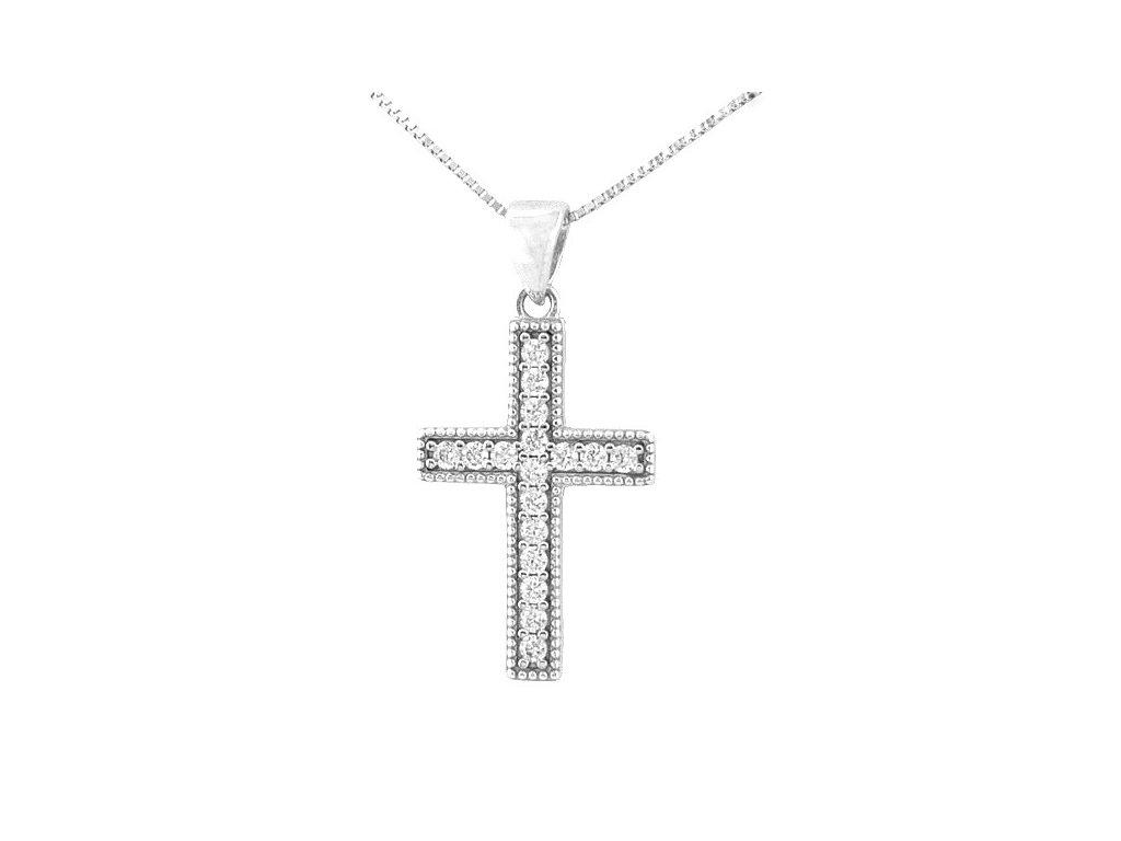 Přívěšek zlatý kříž