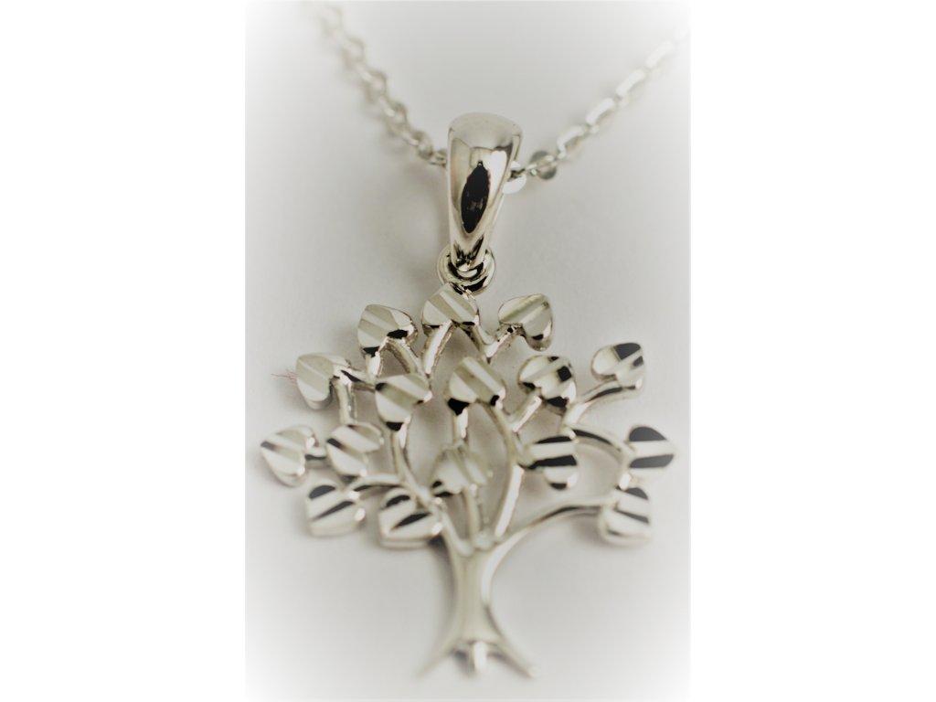 Zlatý přívěšek-Strom života