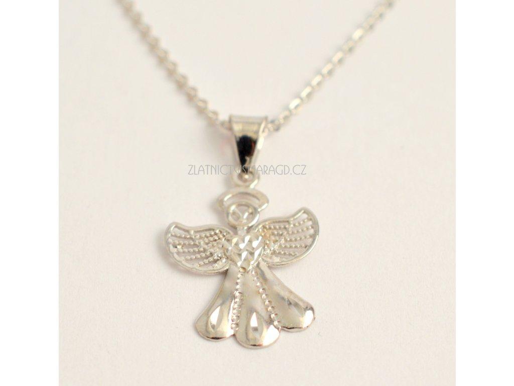 Zlatý přívěšek-Anděl