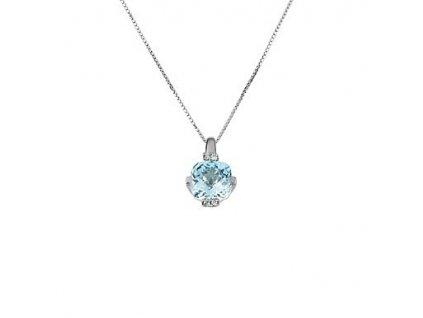 Topazový náhrdelník