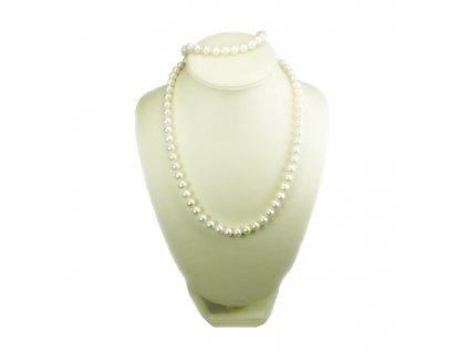 Perlový náhrdelník 45cm