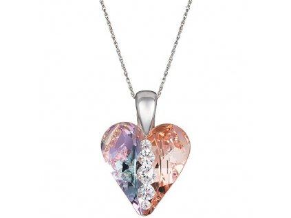 6873 70 Náhrdelník stříbrný PRECIOSA Love Heart