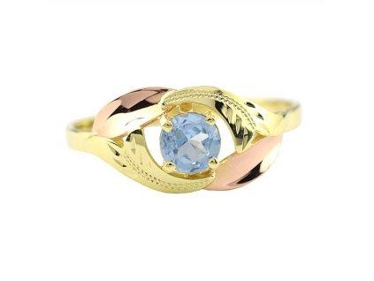 Zlatý prsten žluté zlato