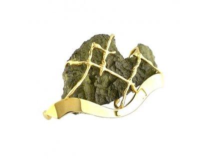 Zlatá brož - Vltavín
