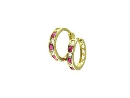 Zlaté kruhy 13mm