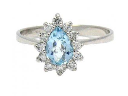Topazový prsten V53