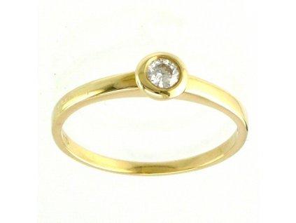 Briliantový prsten V58