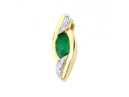 Smaragdový přívěsek