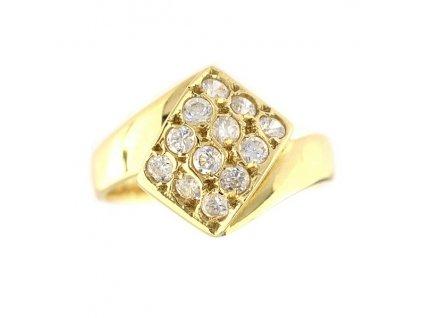 Zlatý prsten V51