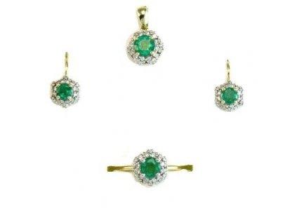 Smaragdová souprava