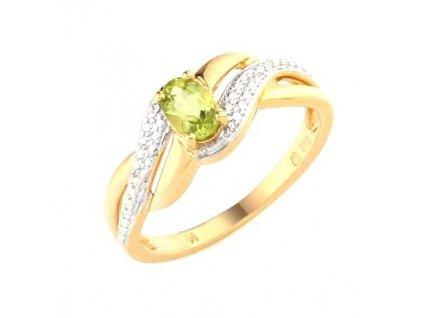 Peridotový prsten