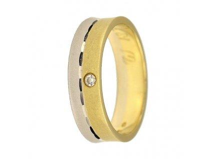 Briliantové snubní prsteny AW-187