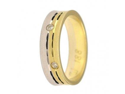 Briliantové snubní prsteny AW-188