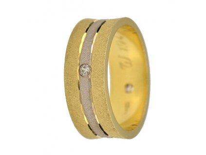 Briliantové snubní prsteny AW-194