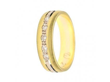 Briliantové snubní prsteny AW-205