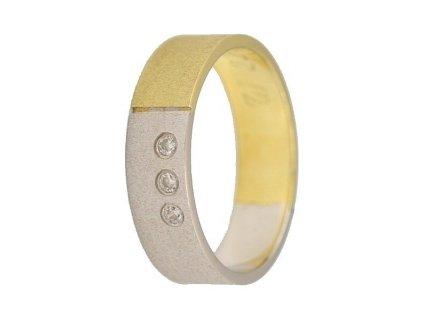 Briliantové snubní prsteny AW-228