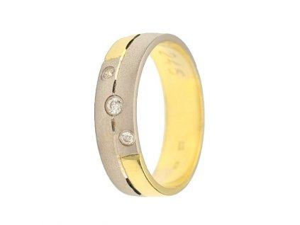 Briliantové snubní prsteny AW-246