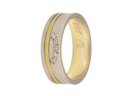 Briliantové snubní prsteny AW-268