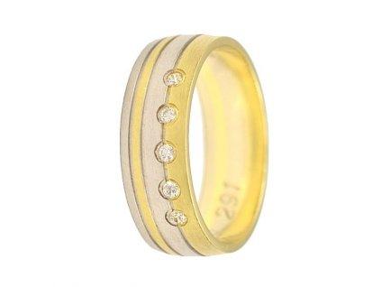 Briliantové snubní prsteny AW-291