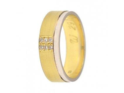 Briliantové snubní prsteny AW-297