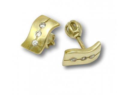 Zlaté náušnice