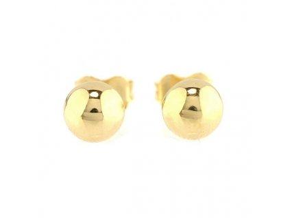 Zlaté kuličky na puzetu 5mm