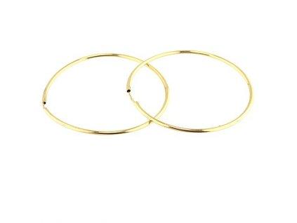 Zlaté kruhy 47mm