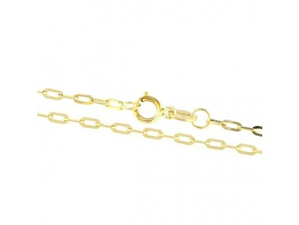 1570-5 Zlatý náramek 18cm žluté zlato