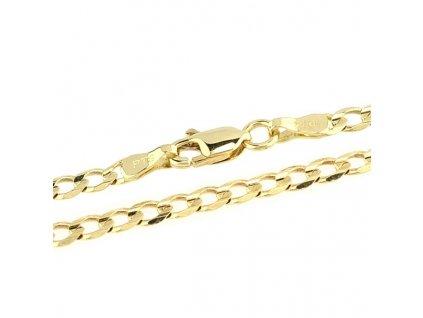 Zlatý řetízek 45cm