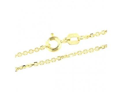1024-5 Zlatý řetízek 45cm ze žlutého zlata