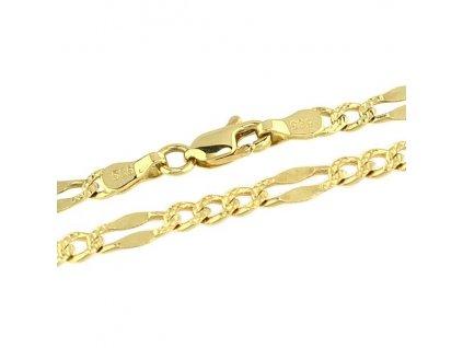 Zlatý řetízek 50cm ze žlutého zlata