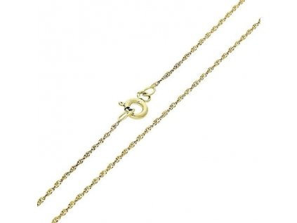 1062-5 Zlatý řetízek 50cm žluté zlato