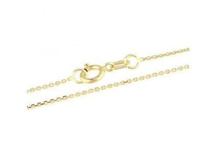 1026-5 Zlatý řetízek 50cm ze žlutého zlata