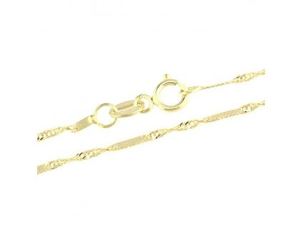 1128-5 Zlatý řetízek 50cm žluté zlato