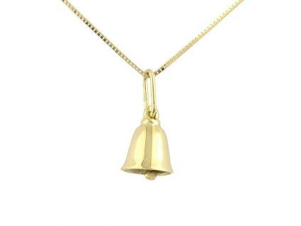 Zlatý zvoneček ze žlutého zlata