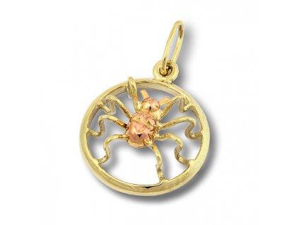 Zlatý pavouček z dvojího zlata