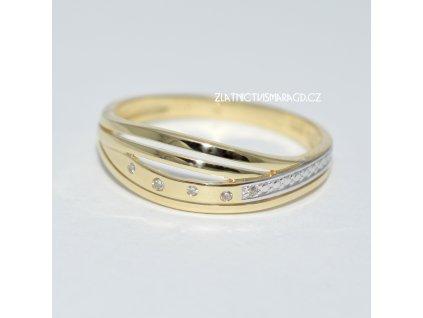Briliantový prsten V55